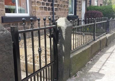 Adlington gate and rails